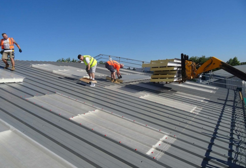 Single Ply Flat Roofing Alderman Roofing Ltd