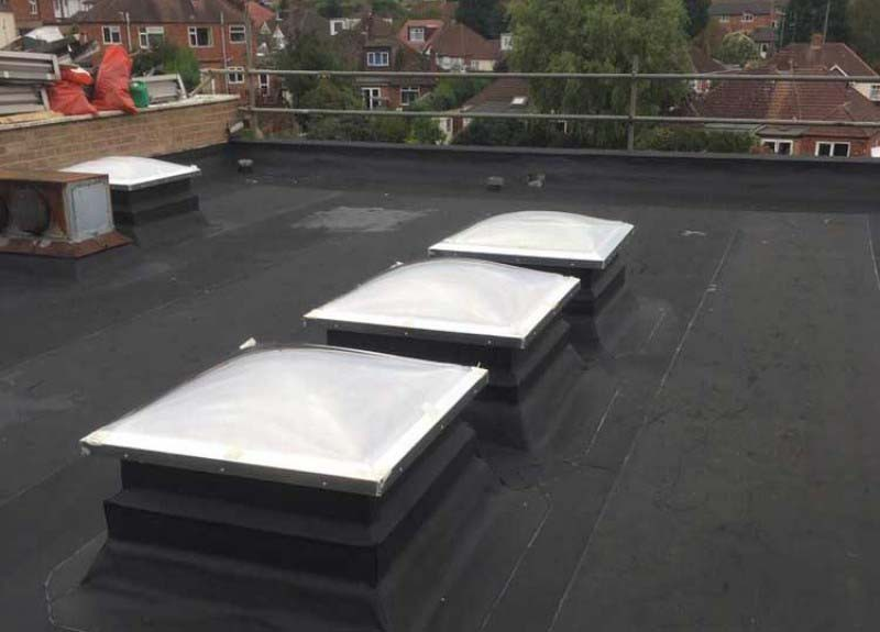 Three Ply Flat Roofing